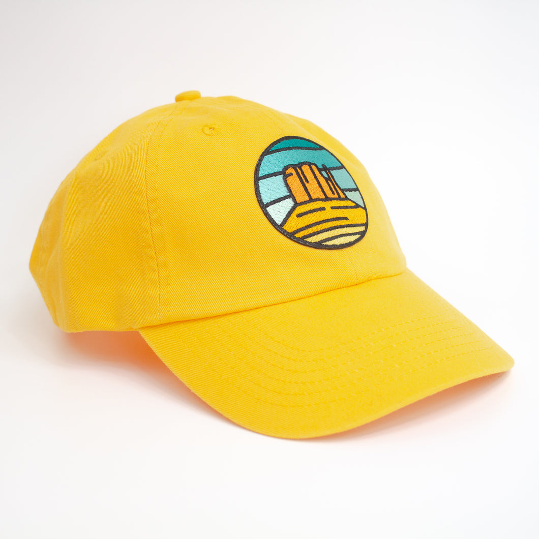 Yellow Monument Valley Hat