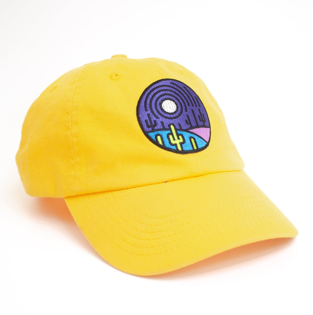 Yellow Saguaro Moon Hat