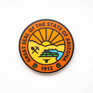 Arizona State Seal Sticker