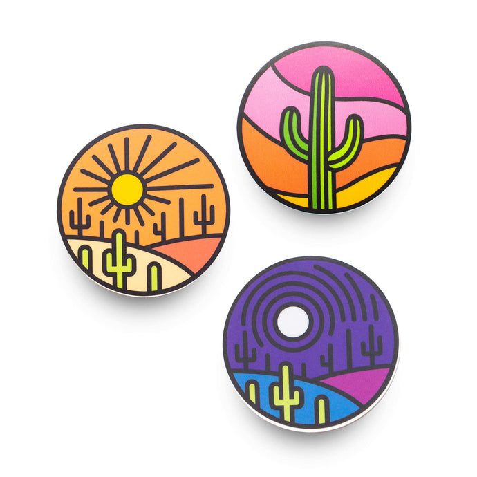 Saguaro Sticker Pack