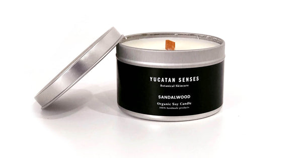 Sandalwood Soy Candle - Party Market