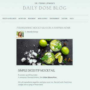 Daily Dose Blog Post