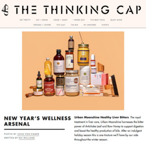 CAP Beauty - New Year's Wellness Arsenal