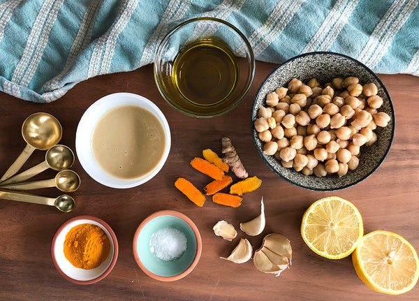 Turmeric dip ingredients