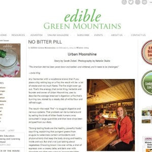 Edible Green Mountains - No Bitter Pill