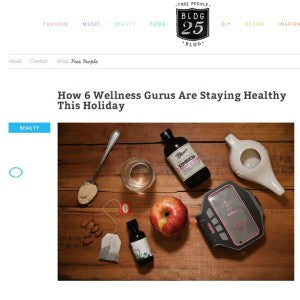 Free People Blog - How 6 Wellness Gurus are Staying Healthy This Holiday Season