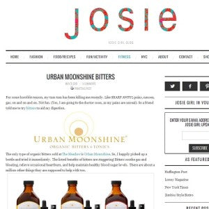 Josie Girl Blog - Urban Moonshine Bitters