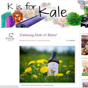 K is for Kale - Embracing Herbs & Bitters