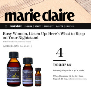 Marie Clare - Busy Women, Listen Up: Here's What to Keep on Your Nightstand