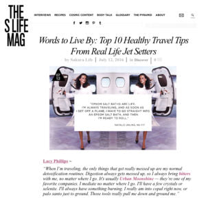 Sakara Life - Top 10 Healthy Travel Tips
