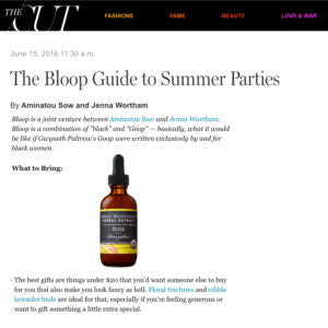 The Cut: The Bloop Guide to Summer Parties