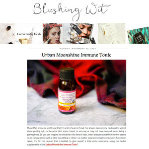 Blushing Wit - Urban Moonshine Immune Tonic