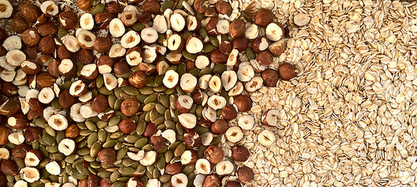 herbal energy bar seeds and oats