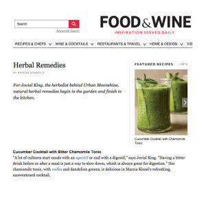 Food & Wine - Herbal Remedies
