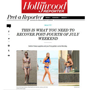 Hollywood Reporter - This is What you Need to Recover Post-Fourth Of July Weekend