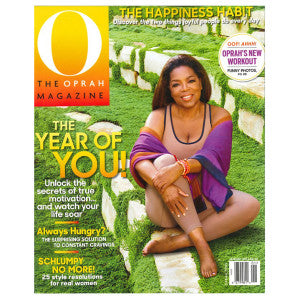 Oprah Magazine Cover January 2016