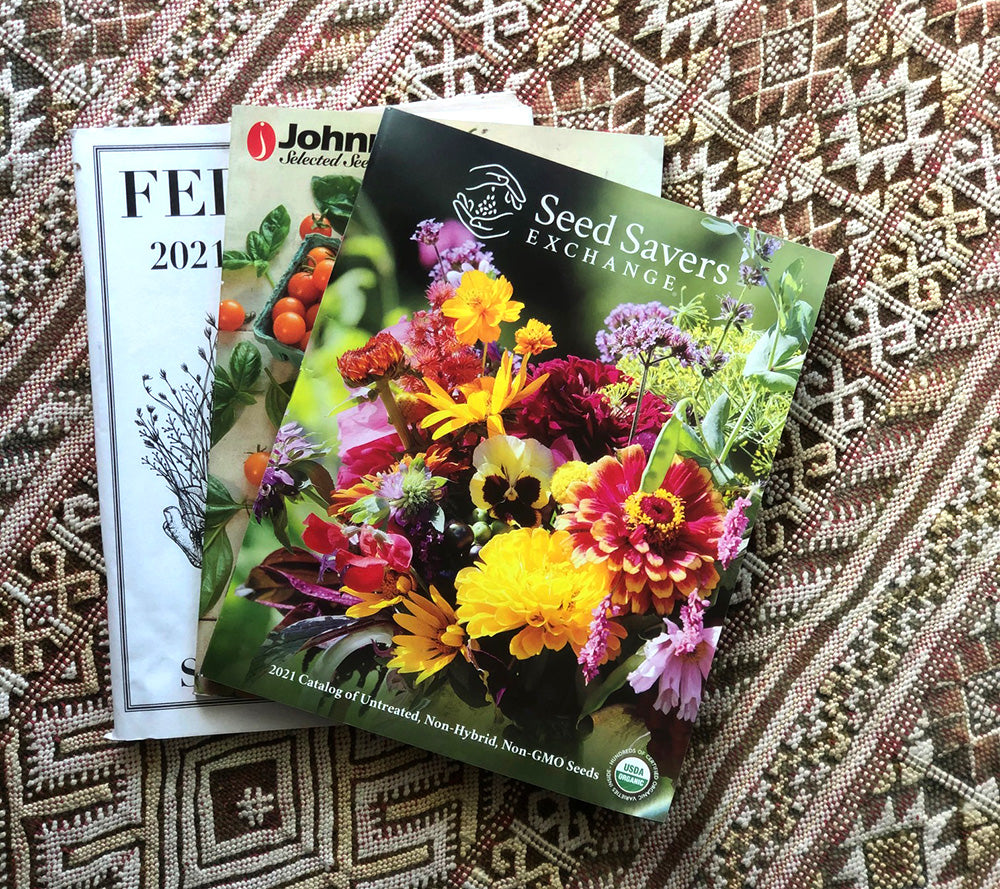 seed savers and other seed catalogs