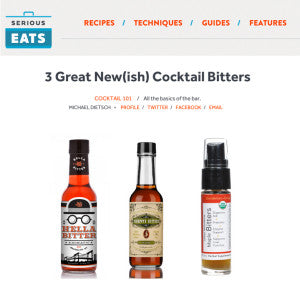 Serious Eats - 3 Great New(ish) Cocktail Bitters