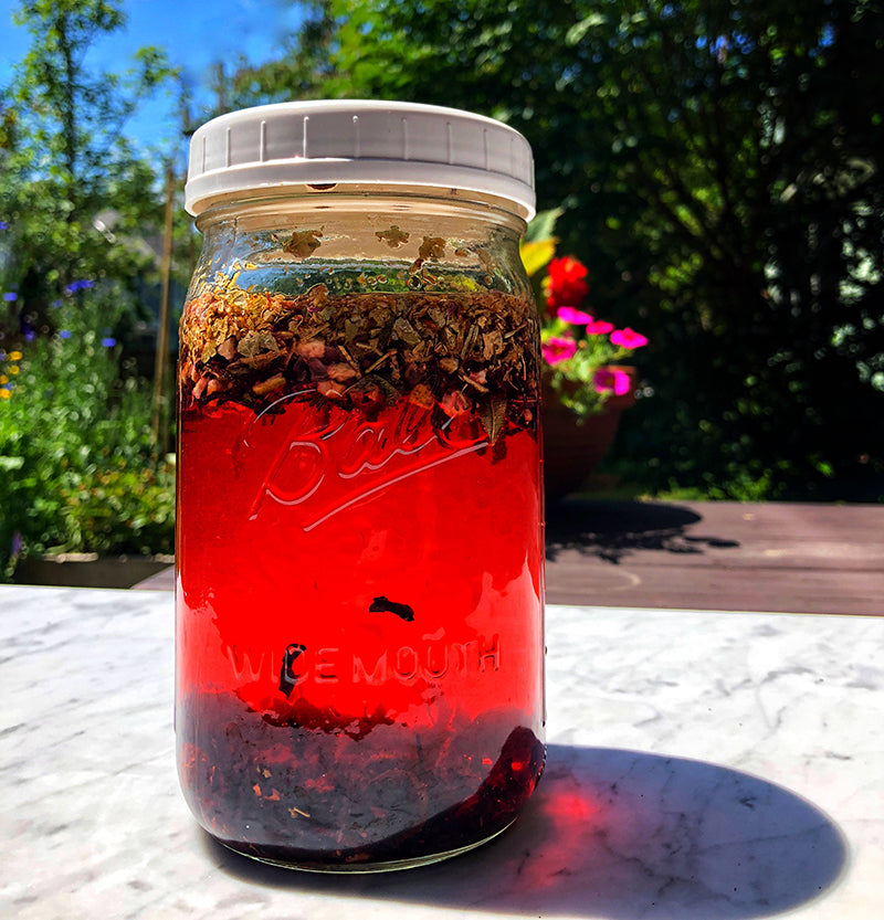 Urban Moonshine Dried Herb Sun Tea