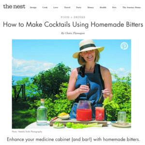 The Nest - How to Make Cocktails Using Homemade Bitters