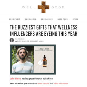 Well + Good - The Buzziest Gifts