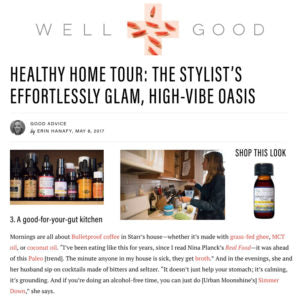 Well + Good - Healthy Home Tour