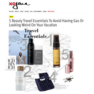 xo Jane - 5 Beauty Travel Essentials