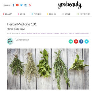 You Beauty - Herbal Medicine 101