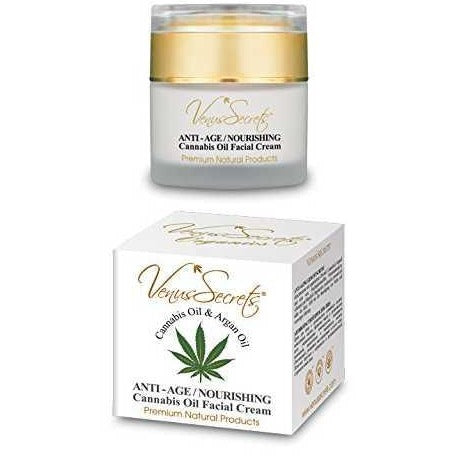 Venus Secrets Anti-Age Nourishing Facial Cream With Cannabis Oil