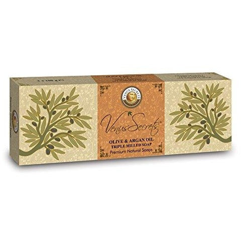 Venus Secrets Olive Oil Soap Bars with Olive Oil
