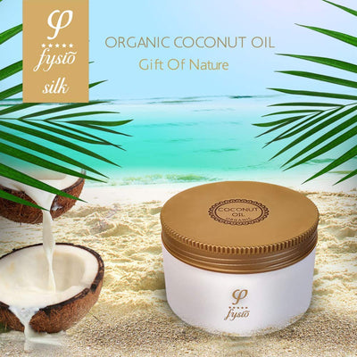 Fysio Organic Coconut Oil Enriched with Beeswax & Olive Oil 250 ml