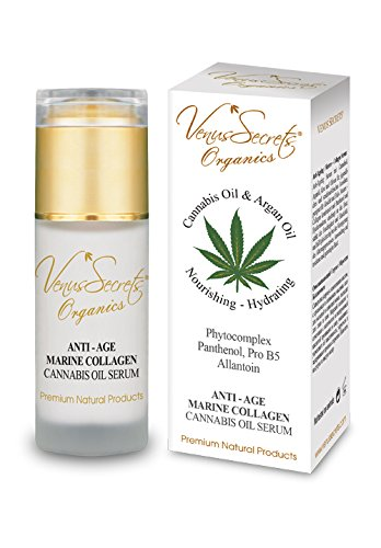 Venus Secrets Anti Ageing Serum with Cannabis Oil & Marine Collagen 40 ml