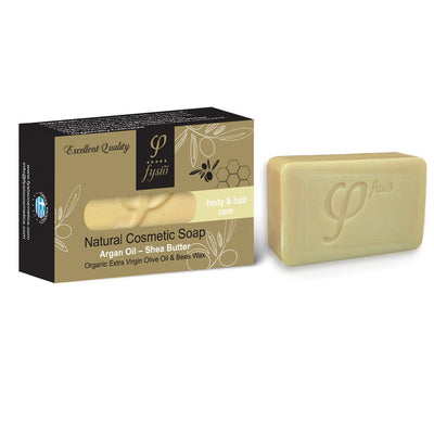 Fysio Olive Oil Soap Bar With Argan Oil & Shea Butter