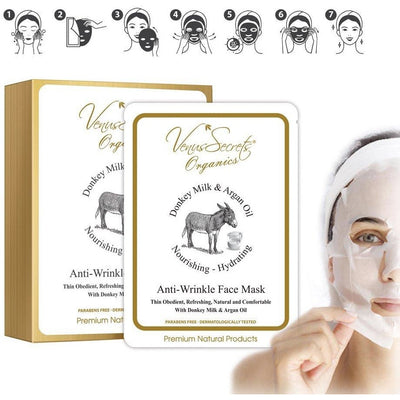 Venus Secrets Face Mask with Donkey Milk & Argan Oil