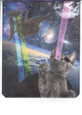 Tablet Cover Paprcuts Laser Cats