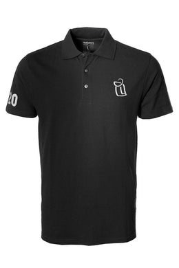 Polo Shirt HoodLamb Black