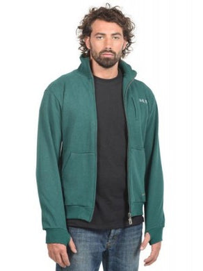 Men's Pattern Zip Up Sweater HoodLamb Pine