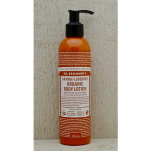 Dr.Bronner's Body LotIon Orange Lavender 240ml