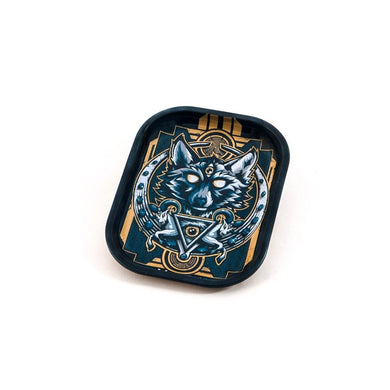 Metal Rolling Tray Wolf Small (18L/14W)