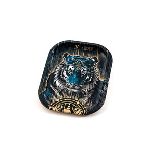 Metal Rolling Tray Tiger Small (18L/14W)
