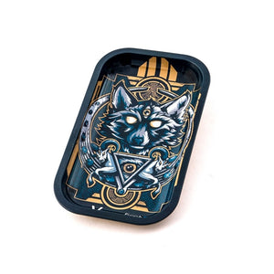 Metal Rolling Tray Wolf Large (27L/16W)