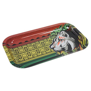 Metal Rolling Tray Lion Large (27L/16W)