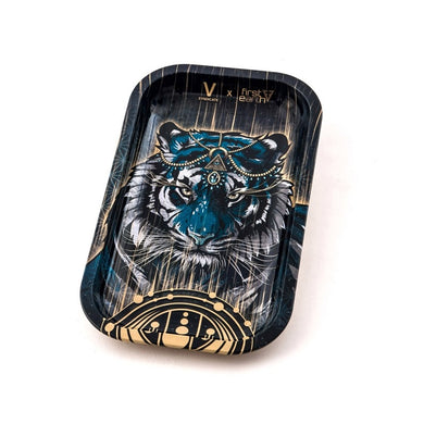Metal Rolling Tray Tiger Large (27L/16W)