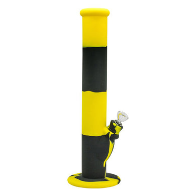 Bong Silicone Yellow+Black 36cm
