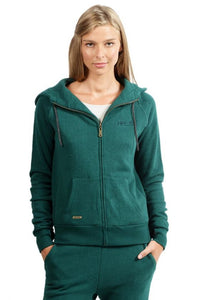 Ladies' Zip Up Hoodie HoodLamb Pine