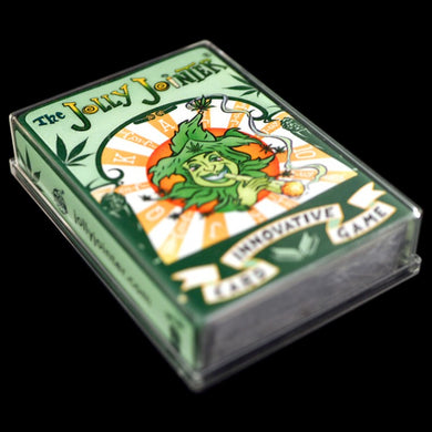 Jolly Jointer Playing Cards Green