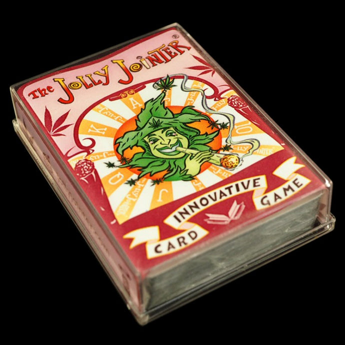 Jolly Jointer Playing Cards Red