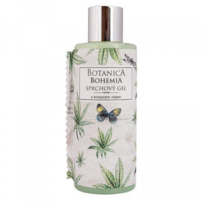 Botanica Shower Gel with Hemp Oil 200ml