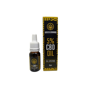 CBD Health & Cannabis 5% Full Spectrum 10ml