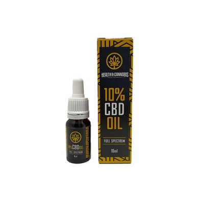 CBD Health & Cannabis 10% Full Spectrum 10ml